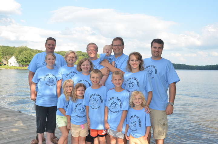 Fun At The Lake! T-Shirt Photo