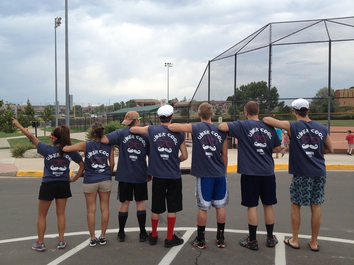 Summer Time Kickball Team T-Shirt Photo