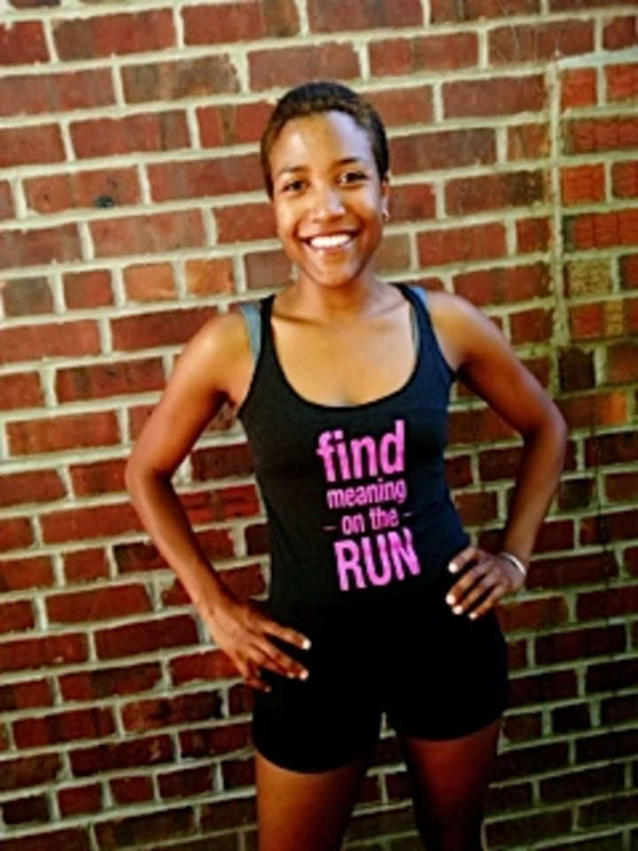 Find Meaning On The Run!  T-Shirt Photo