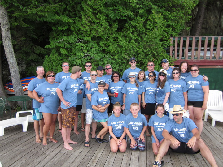 Lake George 2013 T-Shirt Photo