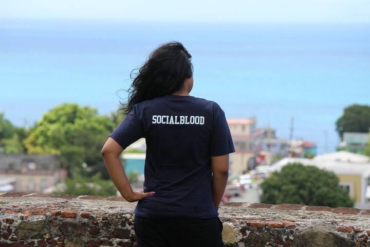 Socialblood Girl T-Shirt Photo
