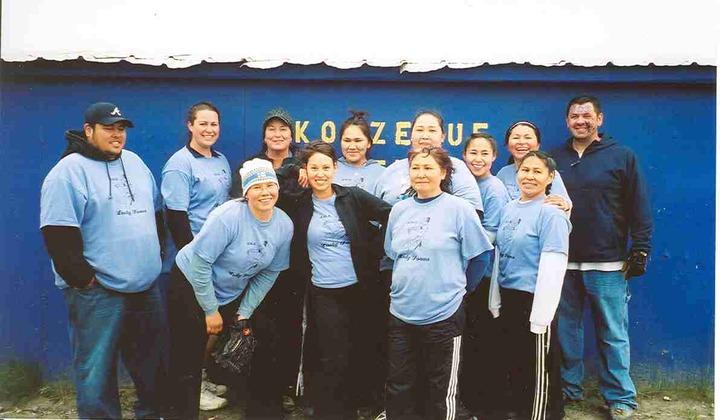 2006 Arctic Circle Softball Champions T-Shirt Photo