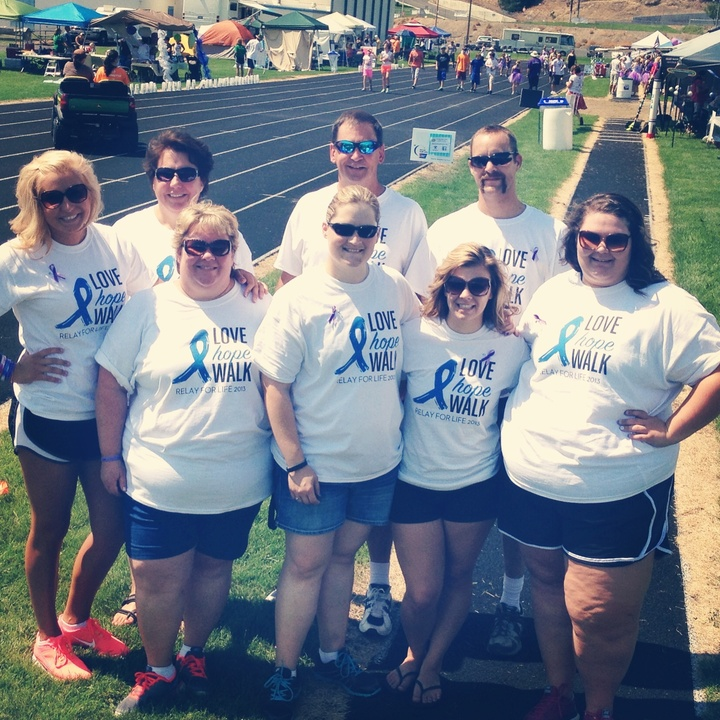 "Relay For Life ""Team Lon""  T-Shirt Photo"