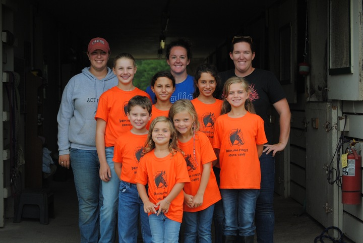 Dancing Pines Horse Camp T-Shirt Photo
