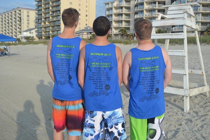 Borup Crew Club   Livin' The Dream T-Shirt Photo