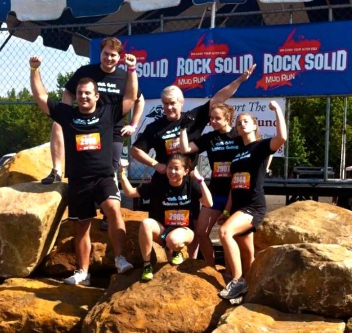 Family Mud Run In Nj  T-Shirt Photo