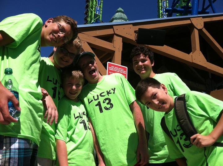 Alex's 13th Birthday T-Shirt Photo