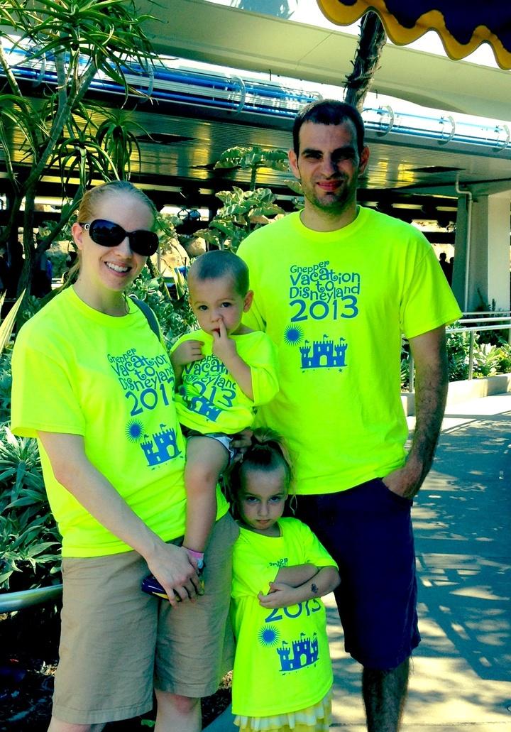 Disneyland 2013 T-Shirt Photo