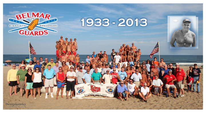 Belmar Guards Jersey Shore 80 Anniversary T-Shirt Photo