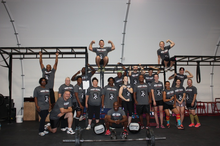 Crossfit Coleman T-Shirt Photo