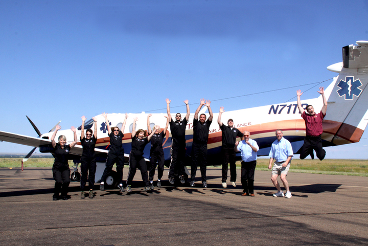 Flight Team From Northeast Montana Stat Air T-Shirt Photo