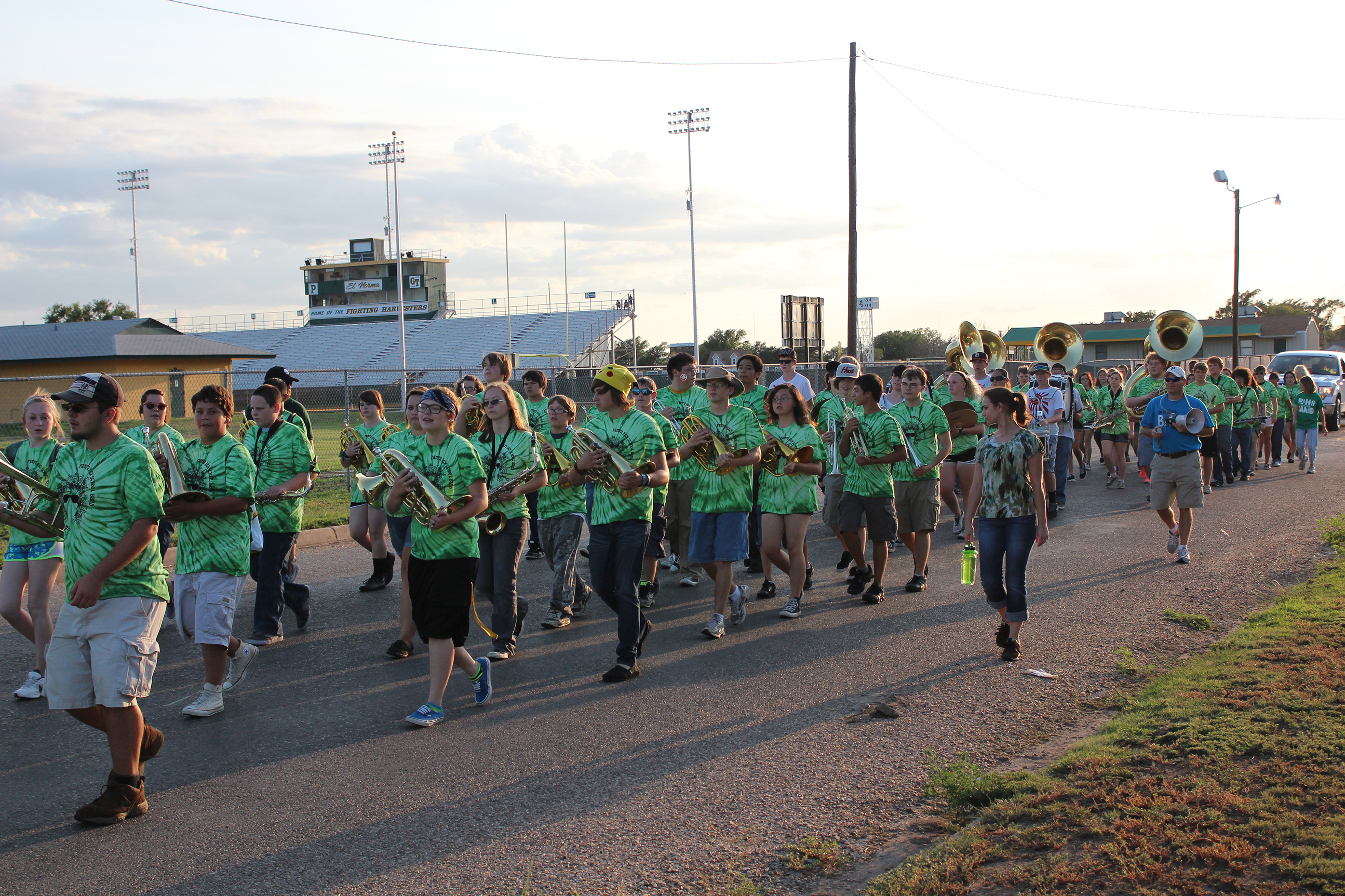 Custom T-Shirts for Pampa Hs Band March A Thon - Shirt Design Ideas