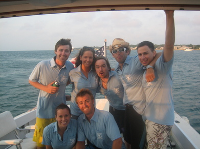 Crew Member Photo From The 2007 Tortuga Open T-Shirt Photo