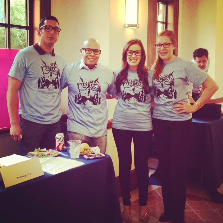 Rice Technology Club: So Nerdy It's Cool! T-Shirt Photo