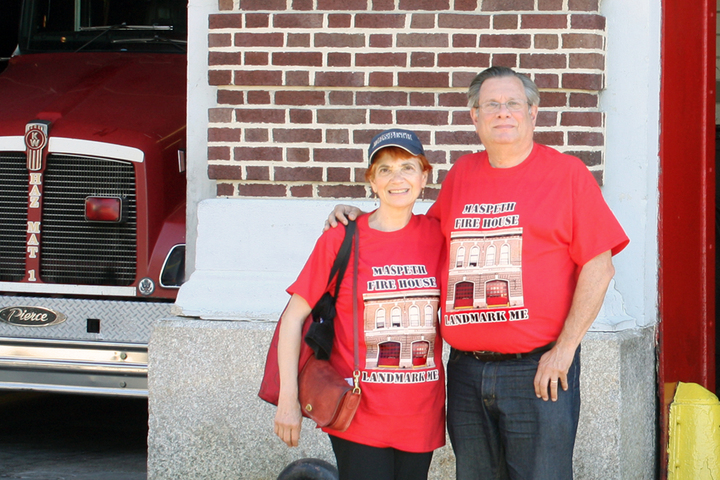 Maspeth Fire House Landmarks Quest T-Shirt Photo