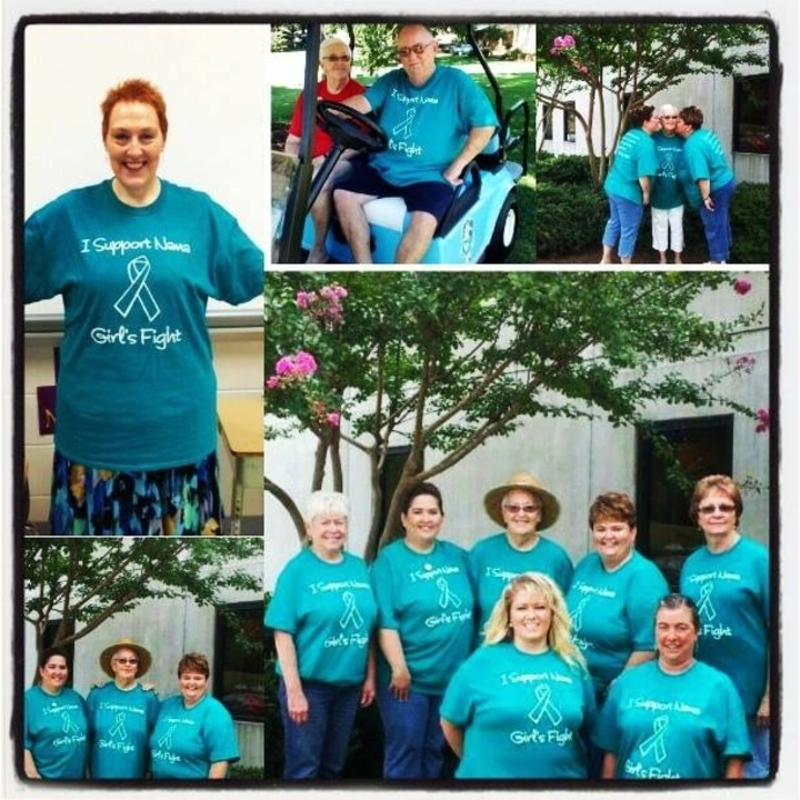 Supporting Nana Girls Fight  T-Shirt Photo