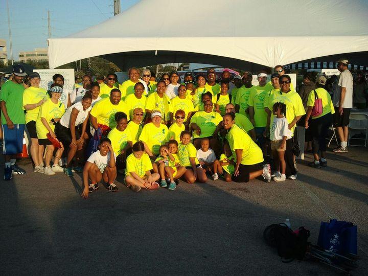 Team Mary Houston 2013 Ovarian Cancer Wa/K/Run T-Shirt Photo