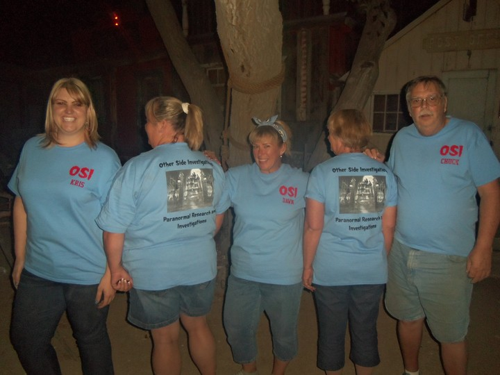 Ghost Hunting At Midnight In Ghost Town T-Shirt Photo