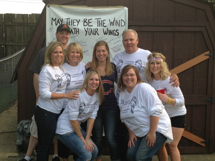 Team Bree, Team Imerman Angels, Chicago Marathon 2013 T-Shirt Photo