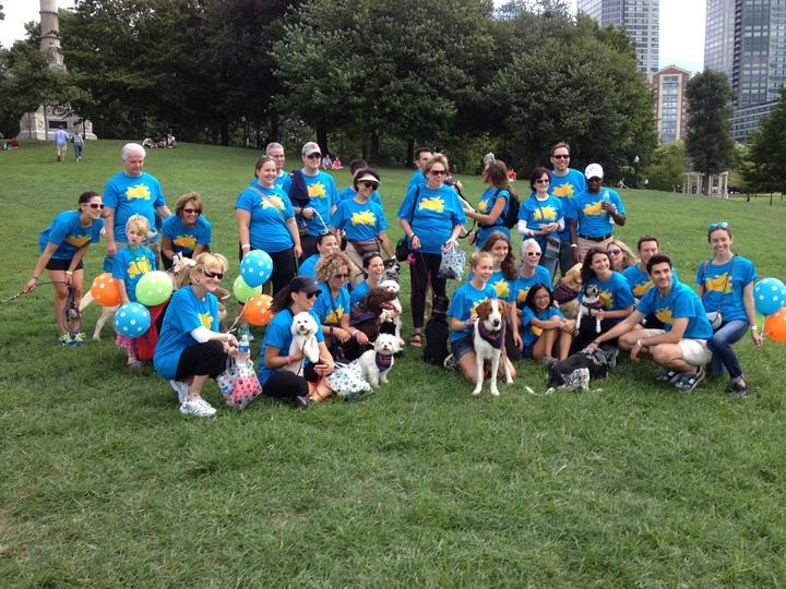 Team Photo For For Pet's Sake   2013 Walk For Animals T-Shirt Photo