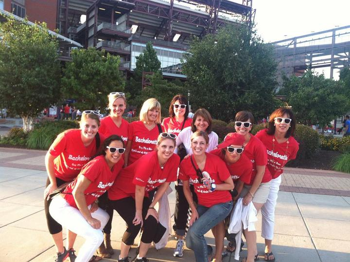 Phillies Bachelorette Party T-Shirt Photo