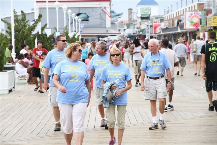 Reunion Fun On The Boardwalk Without The Kids!!  T-Shirt Photo