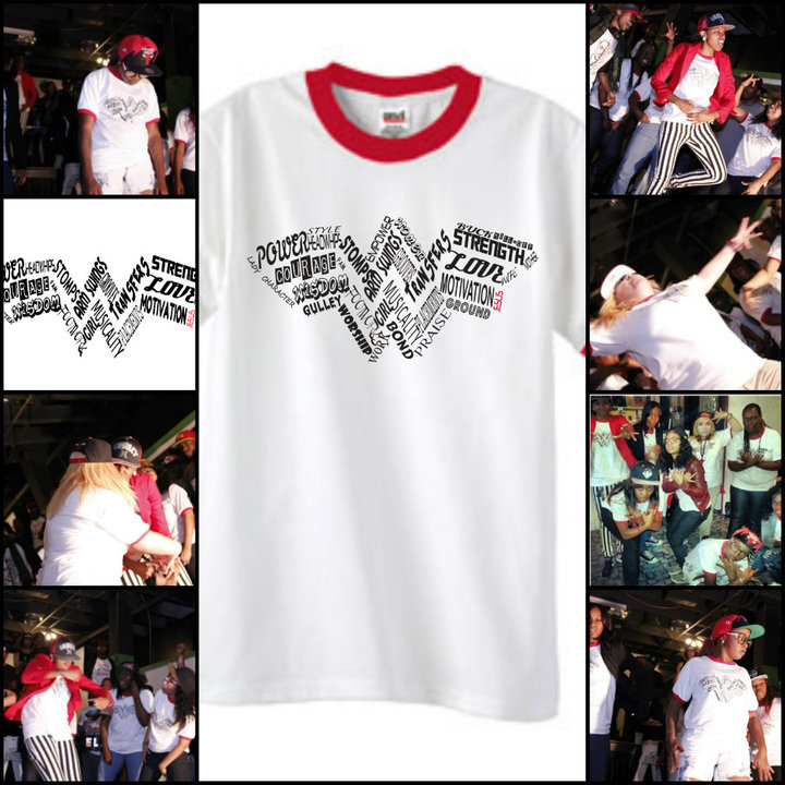 Wonder Women Krump Tees T-Shirt Photo