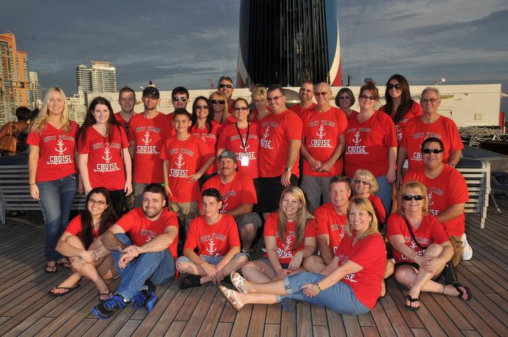 2013 New Year's Cruise  T-Shirt Photo