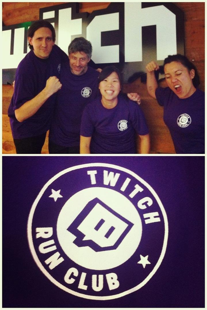 Run, Twitch, Run! T-Shirt Photo