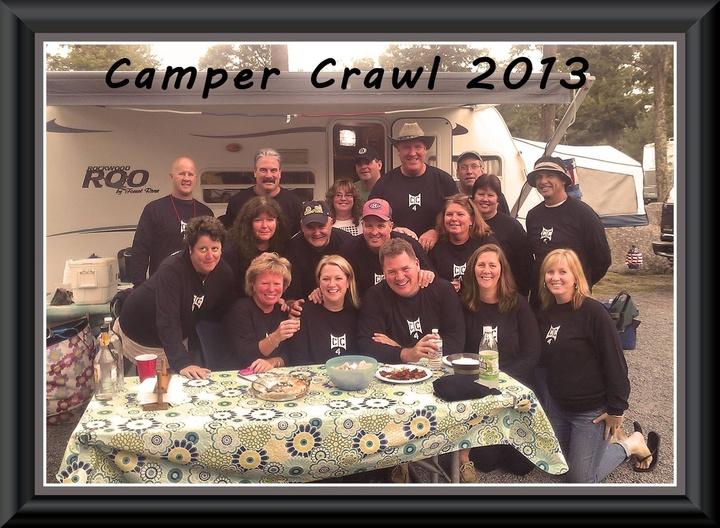 Camper Crawl 2013 T-Shirt Photo
