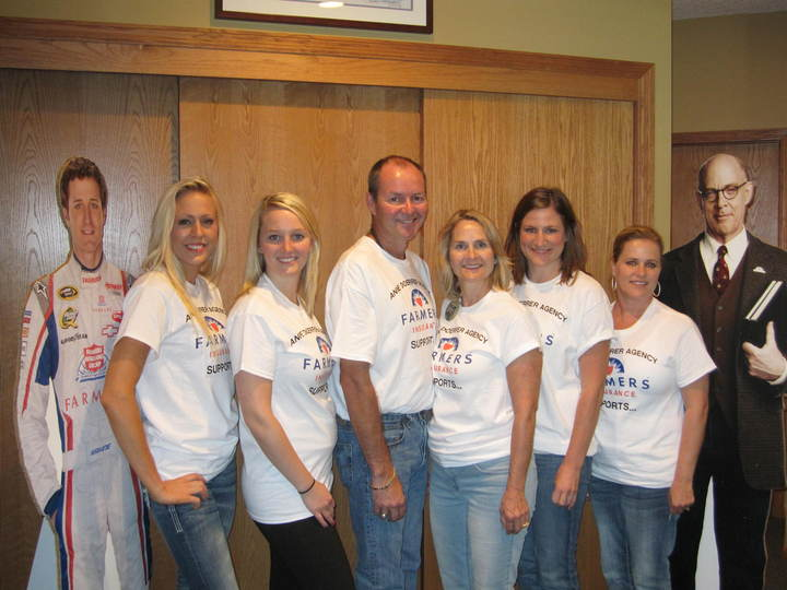Farmers Insurance Mustang Football Event T-Shirt Photo