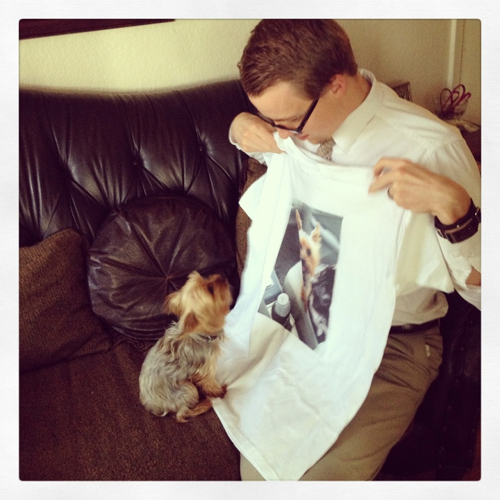 Join The Puppy Fan Club T-Shirt Photo