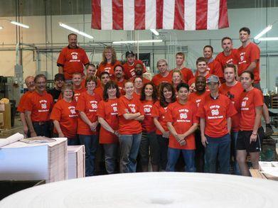 Red Shirt Fridays! T-Shirt Photo