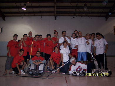 St Mark Lions Hockey Team Vs St Mary's Ss Team T-Shirt Photo