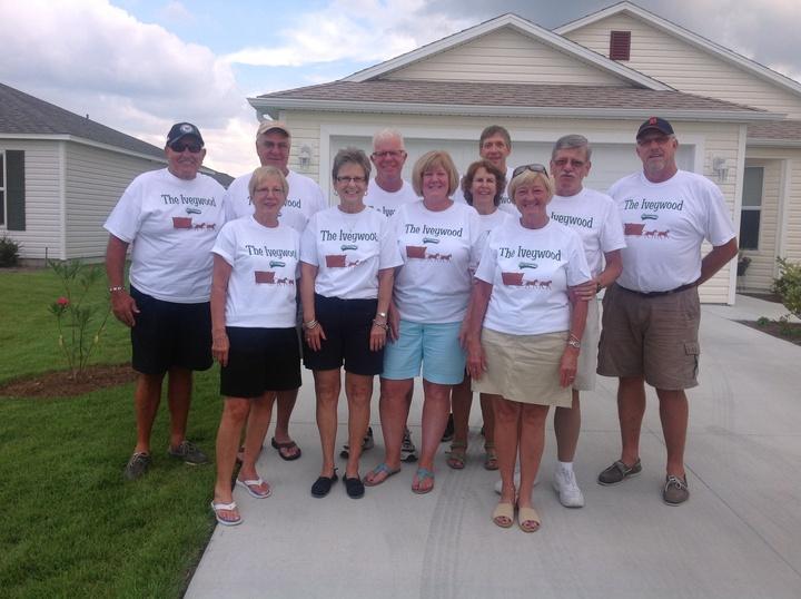 The Iveywood Pioneers T-Shirt Photo