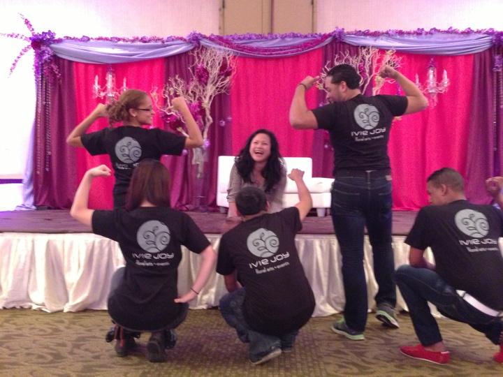 Our Kickass Setup Team! T-Shirt Photo