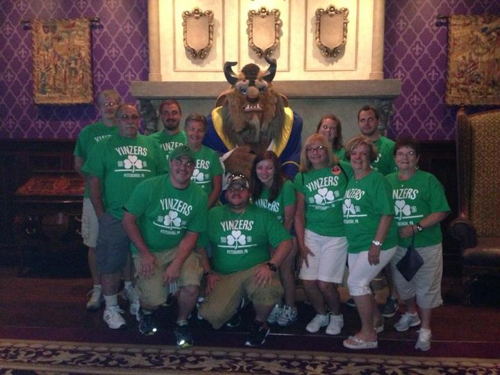 Yinzers At Disney World T-Shirt Photo