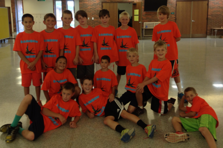 Rainbow Birdies Floor Hockey Team T-Shirt Photo
