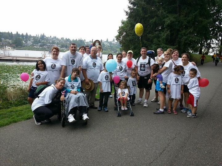 Seattle Als Walk T-Shirt Photo