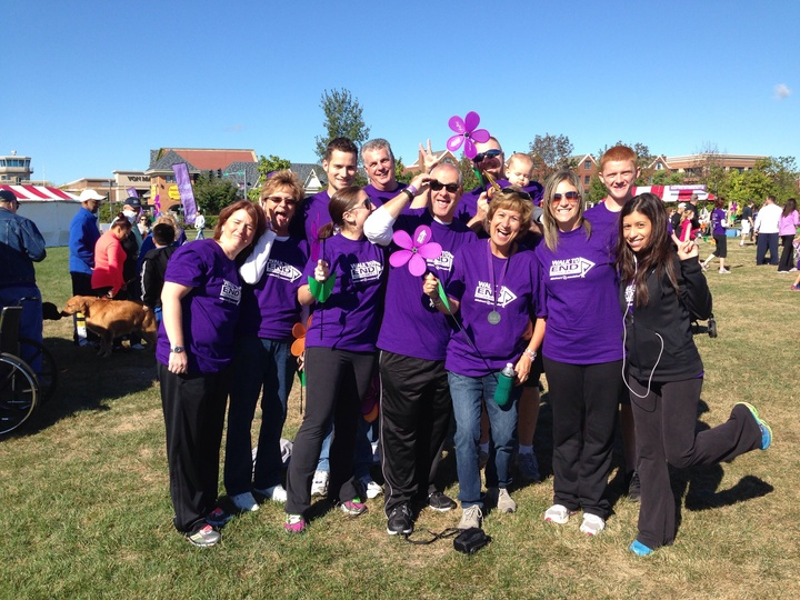 Walk To End Alzheimer's   Guardian Angels T-Shirt Photo