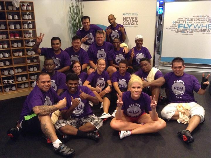 Allure Flywheel Team T-Shirt Photo