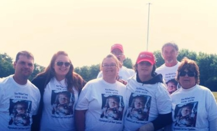2013 Heart Walk In Honor Of Alan Michael Carey T-Shirt Photo