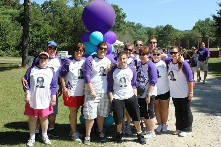 Walking To End Alzheimer's! T-Shirt Photo
