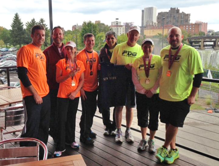 Pdg Marathon Relay   Happy Feet Vs. Fast & Furious T-Shirt Photo