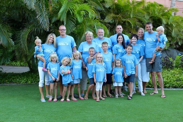 Family Reunion 2013 T-Shirt Photo