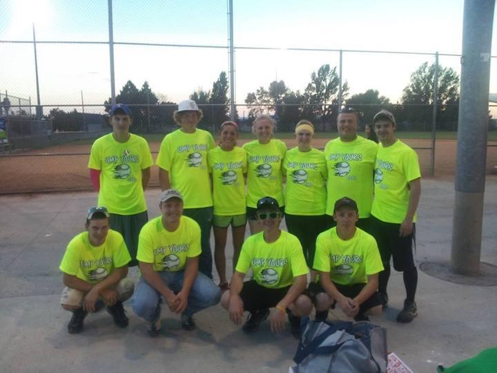 Softball Team (Ump Yours) T-Shirt Photo