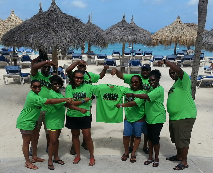 No New Friends Aruba T-Shirt Photo