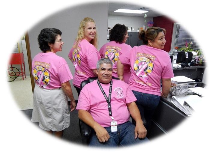 Windcrest Breast Cancer Awareness T-Shirt Photo