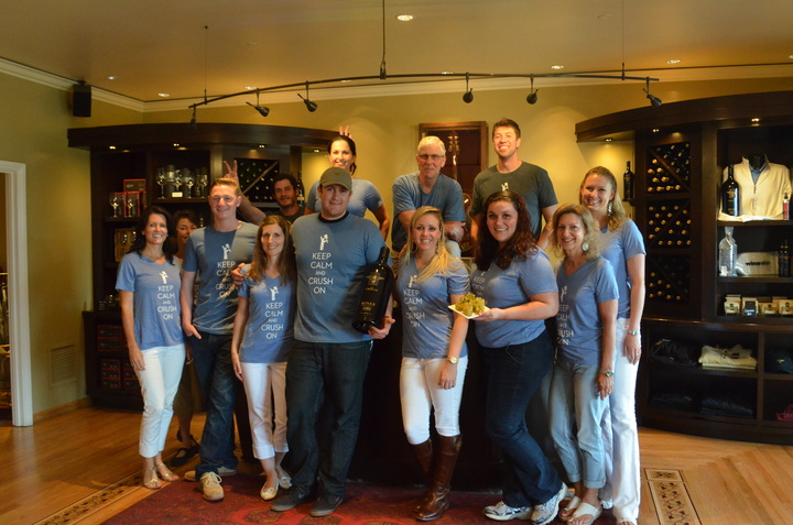 Miner Crew Rockin' Our 2013 Harvest T Shirts! T-Shirt Photo
