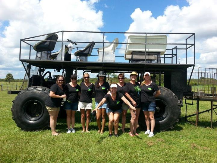 Swamp Buggy Tour T-Shirt Photo